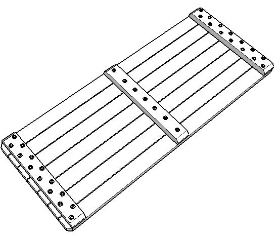 Picknicktafel bouwtekening montage tafelblad