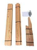 Bouwpakket massief douglas hout tuinbank