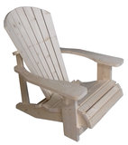 Adirondack chair zijkant