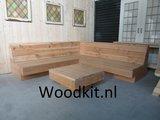 loungehoek bank douglas hout