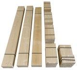 Bouwpakket steigerhout vakkenkast