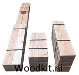 Bouwpakket houten ligbed