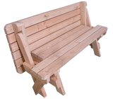 Picknicktafel 2 in 1 als zitbank