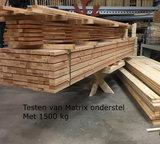 Tafel met matrix onderstel bouwpakket_