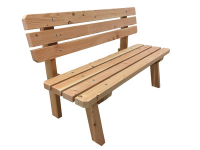 Douglas hout tuinbank bouwpakket