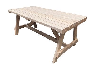 Picknicktafel losse tafel bouwpakket