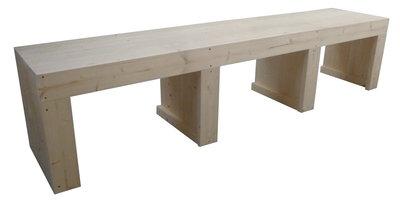 Tv meubel steigerhout bouwpakket