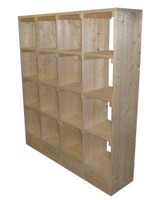 Vakkenkast steigerhout bouwpakket