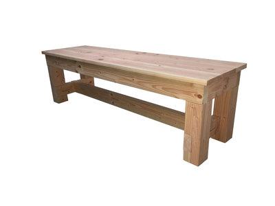 Bankje douglas hout bouwpakket