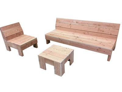 Loungeset douglas hout bouwpakket