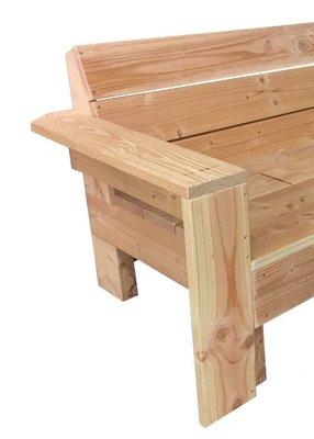 Armleuning douglas hout bouwpakket
