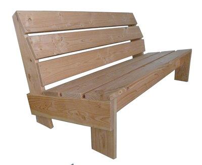 Tuinbank douglas hout bouwpakket op maat