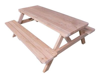 Picknicktafel douglas hout Bouwpakket op maat