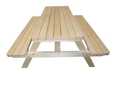 Verrassend Goedkope Picknicktafel Zware kwaliteit vanaf 129,- euro - Woodkit HR-54