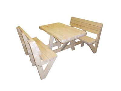 Ongekend Goedkope Picknicktafel Zware kwaliteit vanaf 129,- euro - Woodkit YX-22
