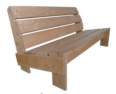 Douglas hout tuinbank
