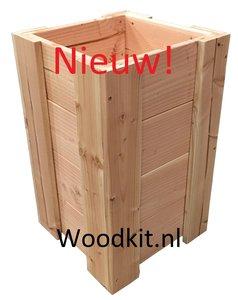 Plantenbak douglas hout bouwpakket nieuw