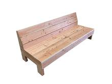 Loungebank douglas hout